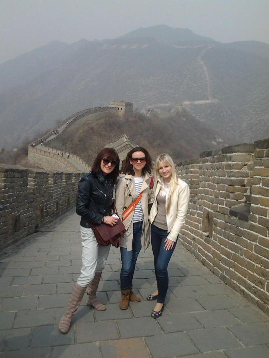 Návštěva Velké čínské zdi