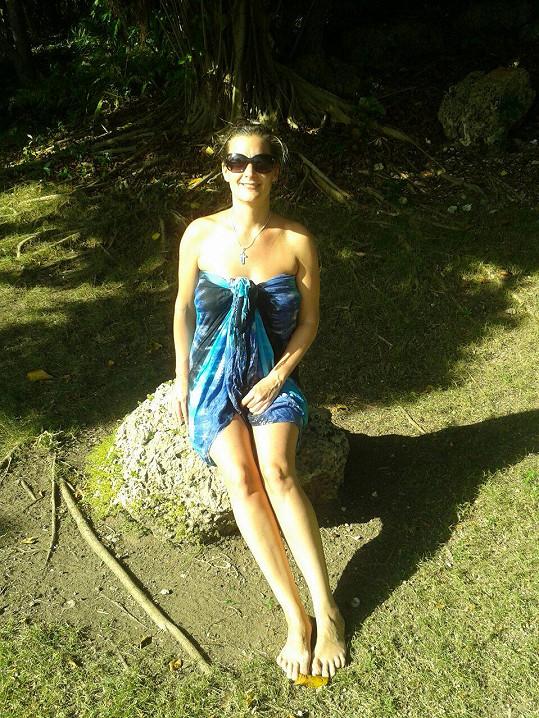 Šárka Marková si užívala dovolenou v Dominikánské republice.