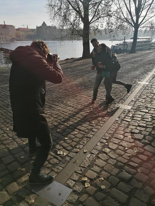 Švantnerovy fotil do kampaně pomáhající dětem z dětských domovů Ondřej Pýcha.