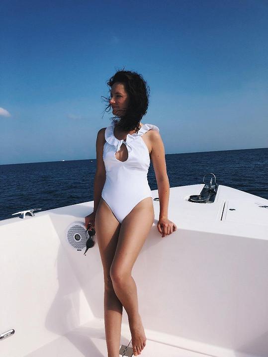 Mladá hudebnice Patricie trávila začátek roku na Seychelách.