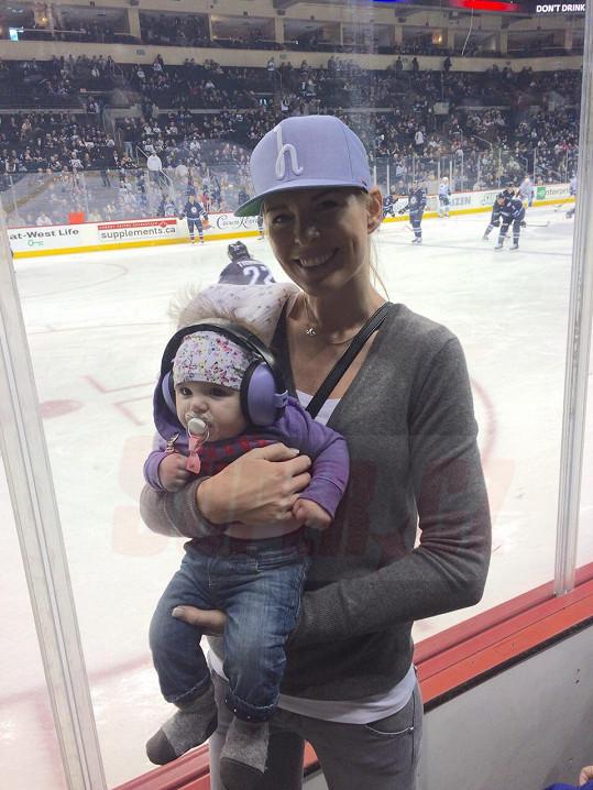 Diana Kobzanová ukázala dceři jejího tatínka v akci.