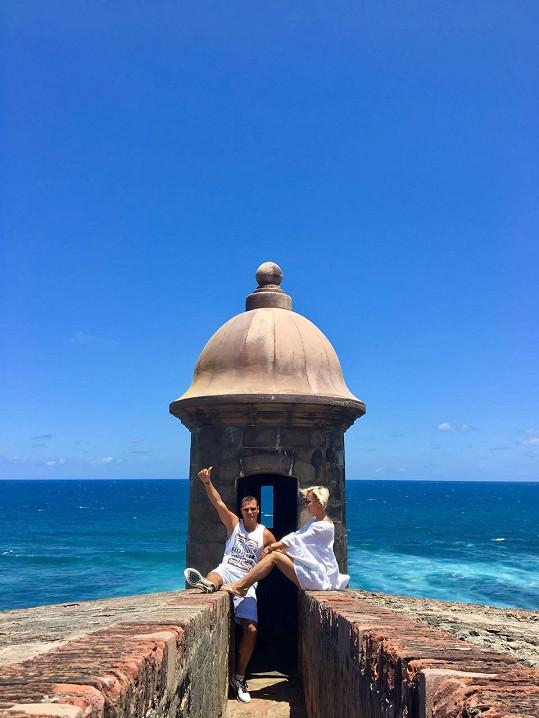 Florida jim nestačí a s manželem rádi prozkoumávají krásy Karibiku.
