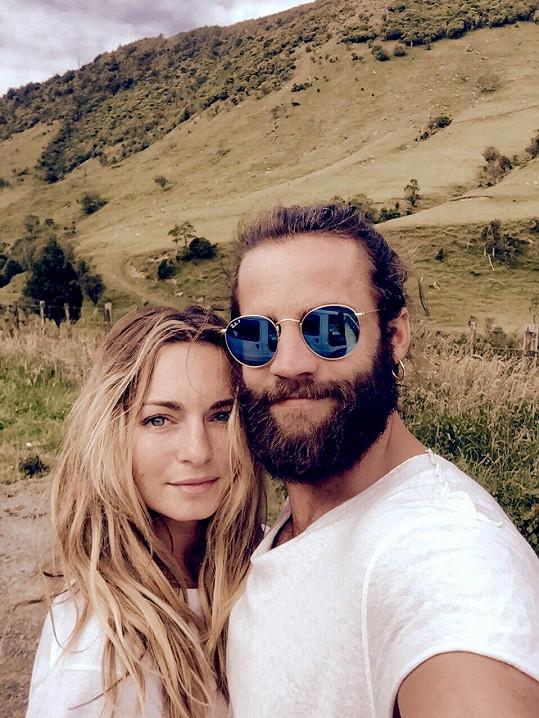 Markéta se svým manželem Honzou Plecháčem