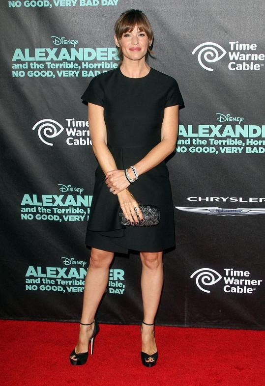 Jennifer Garner na premiéře filmu Alexander And The Terrible, Horrible, No Good, Very Bad Day.