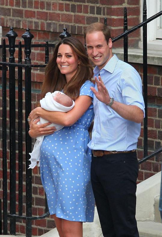 William s Kate a budoucím následníkem trůnu