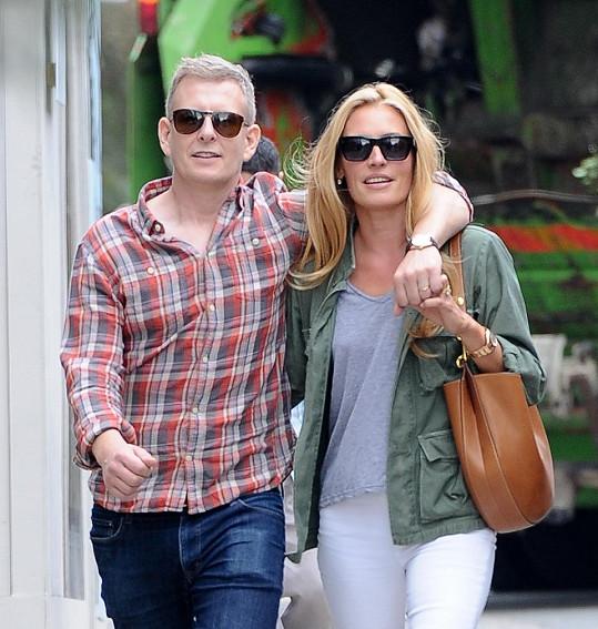Manželé Cat Deeley a Patrick Kielty se stali poprvé rodiči.