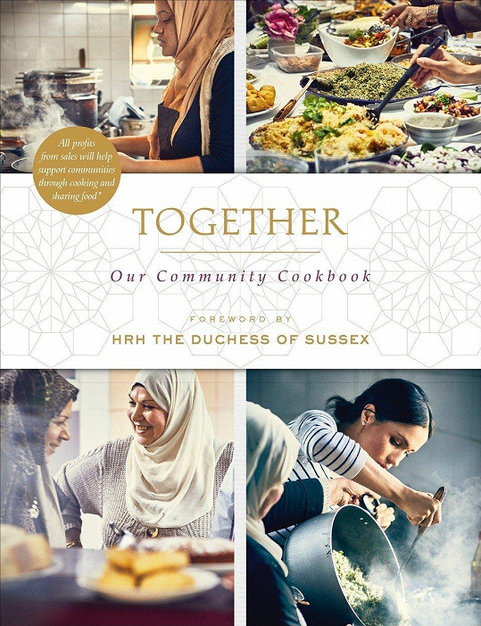 Meghan napsala předmluvu ke kuchařce, kterou vytvořily ženy z komunitní kuchyně.