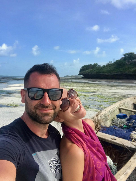 S manželem Michalem vyrazili na Zanzibar.