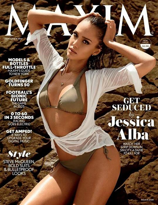 V roce 2014 se nechala zvěčnit na obálku americké mutace časopisu Maxim.