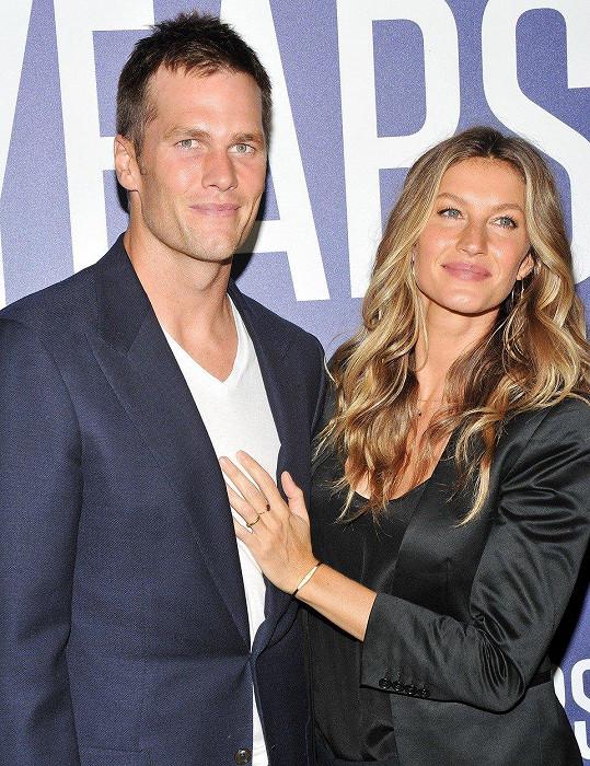 S Tomem Bradym má modelka dvě děti.