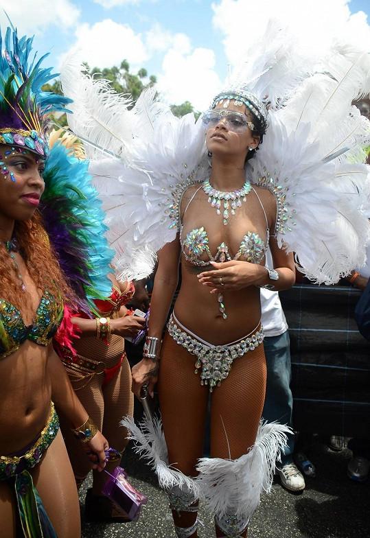 Rihanna dnes...