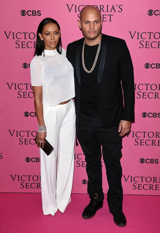 Mel B s manželem Stephenem Belafontem