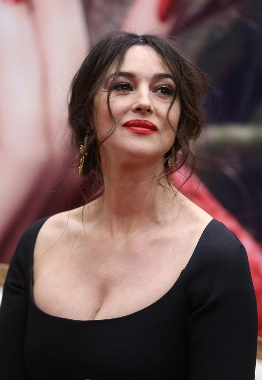 Monica Bellucci zavítala do Moskvy.