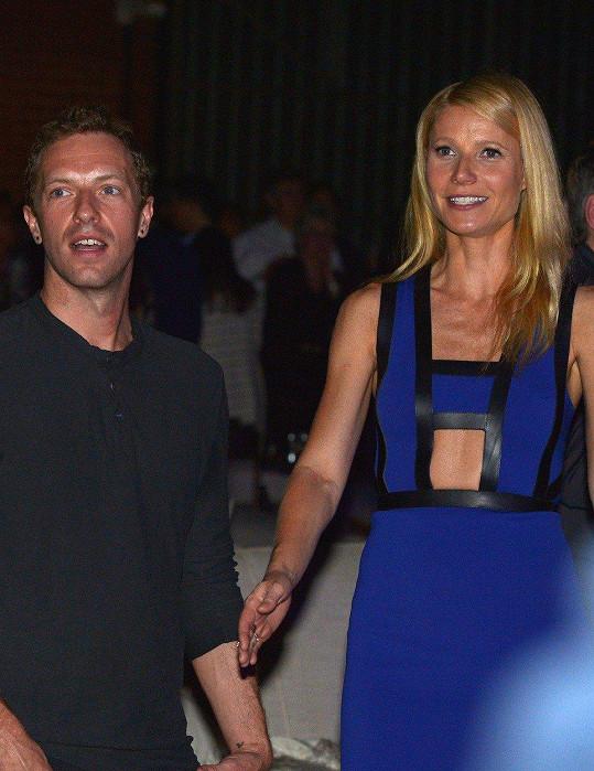 Chris Martin a Gwyneth Paltrow, rodiče třináctileté Apple a jedenáctiletého Mosese