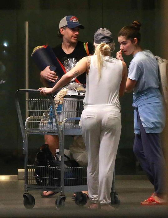 Gaga se svým novým přítelem Christianem