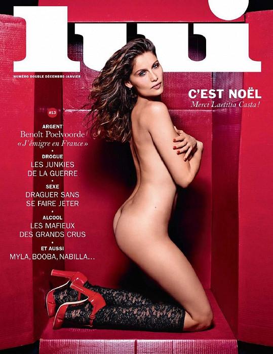 Modelka se loni svlékla pro magazín Lui.