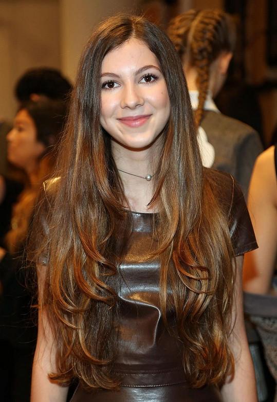 Isabella je nejen výjimečně talentovaná, ale i krásná.