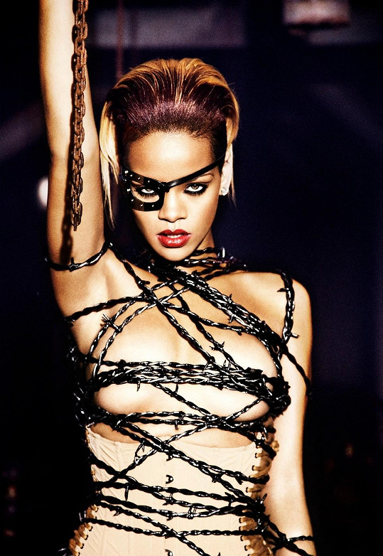 Rihanna nemá žádné zábrany.