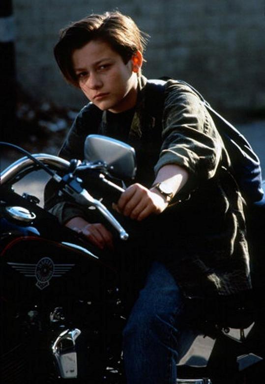 Edward Furlong jako herecká hvězda.