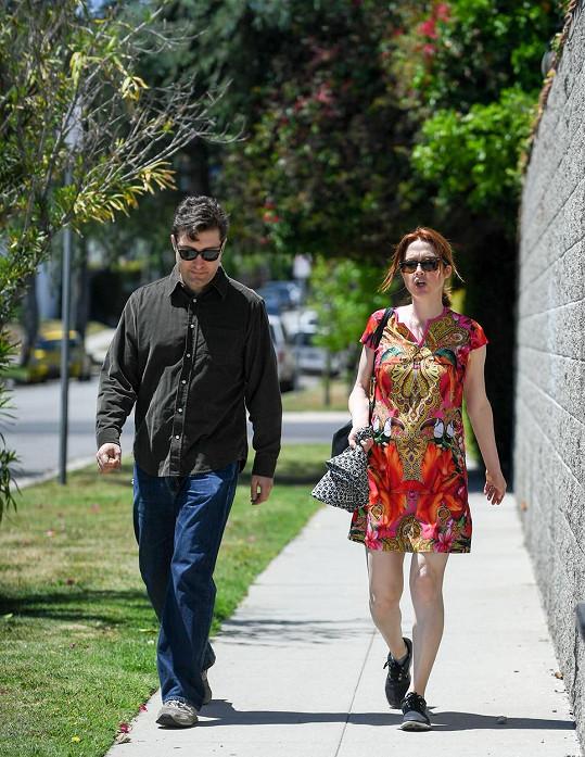 Ellie s manželem Michaelem Komanem
