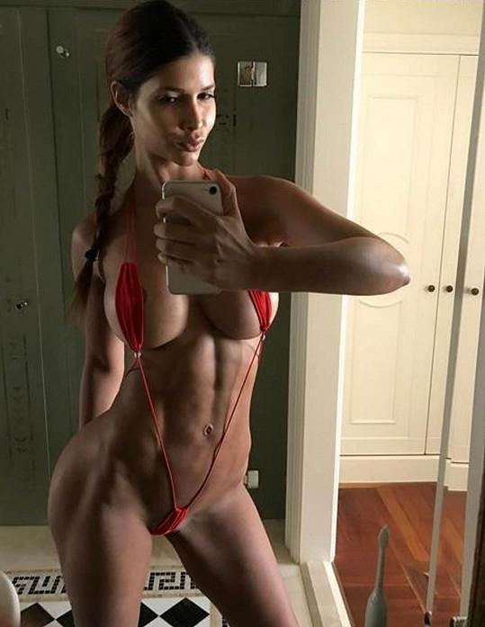 Micaela Schaefer si udělala hodně žhavé selfíčko.