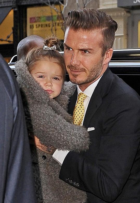 David Beckham se postaral o Harper.