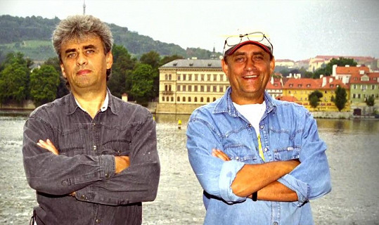 Vladimír Tesařík a jeho starší bratr Richard.