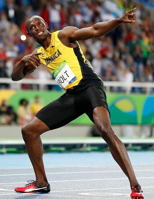 Jamajčan neválí jen na běžecké dráze...
