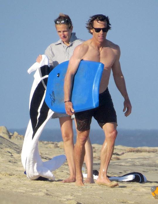 Julia Roberts s manželem Danielem Moderem