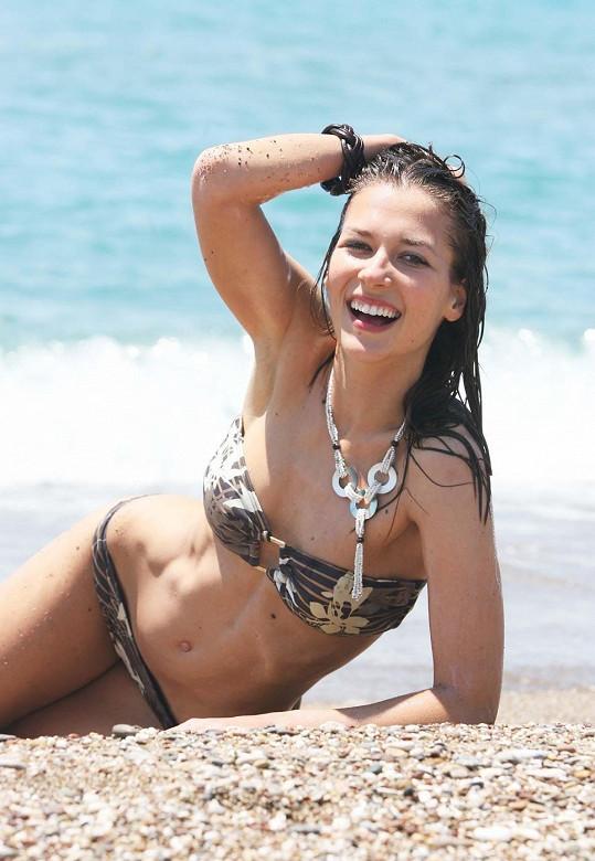 1. Vicemiss 2006 Kateřina Pospíšilová skončila druhá za naší jedinou Miss World Taťánou Kuchařovou.