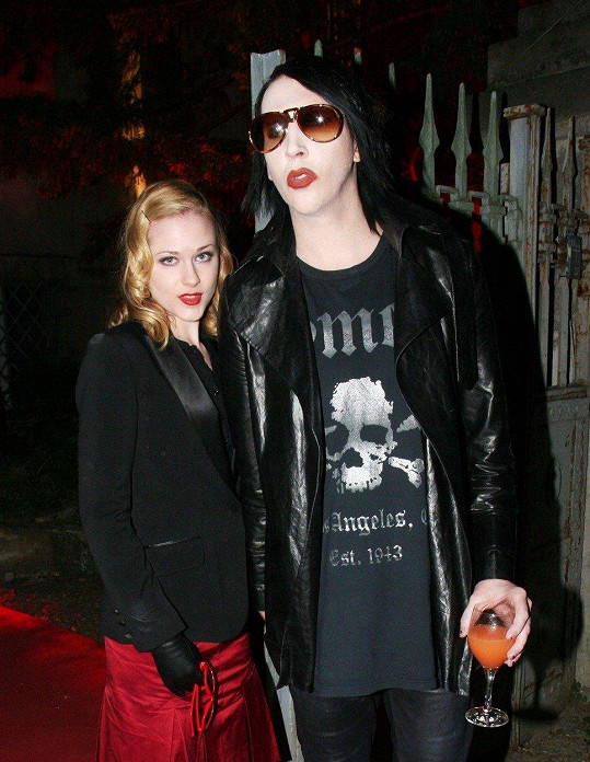 Marilyn Manson a Evan Rachel Wood
