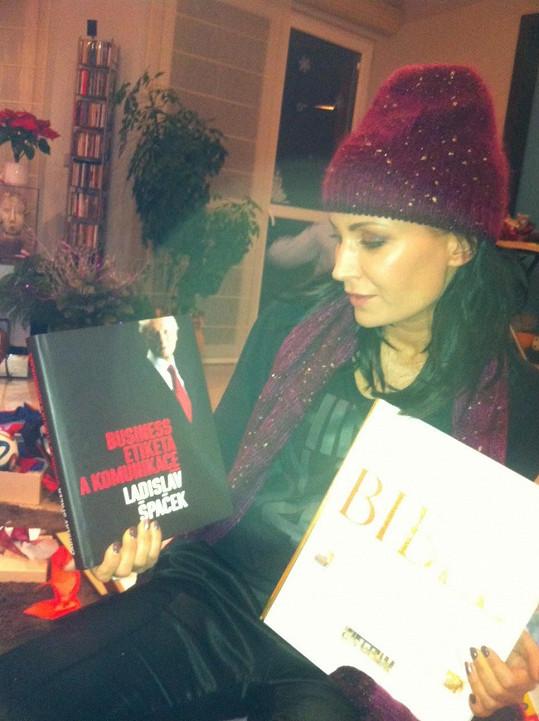 Gábina má ráda Ladislava Špačka i jeho knihy...