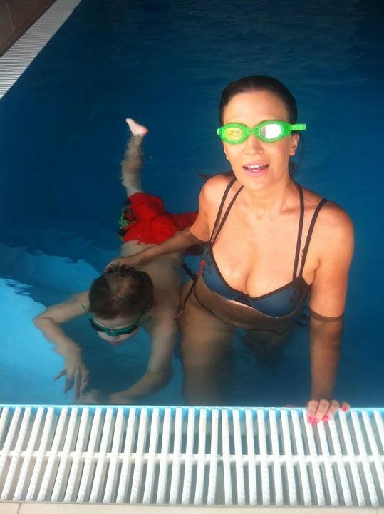K rošťačení patří i potápění.