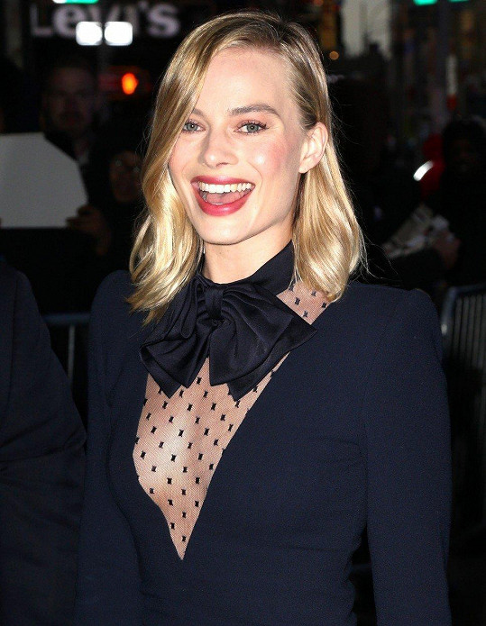 Australská herečka Margot Robbie(27)