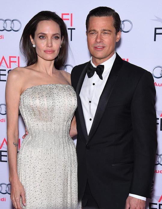 Pitt s Jolie se rozvádí od roku 2016.