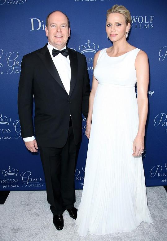 Charlene s manželem Albertem