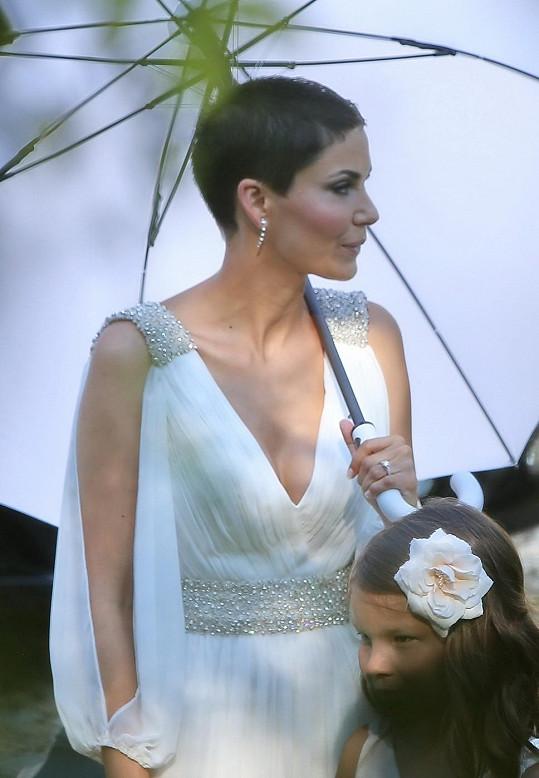 Vlaďka Erbová a její svatební šaty