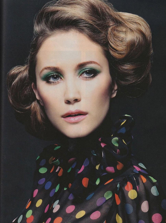 Tereza kdysi začínala jako modelka v Paříži.