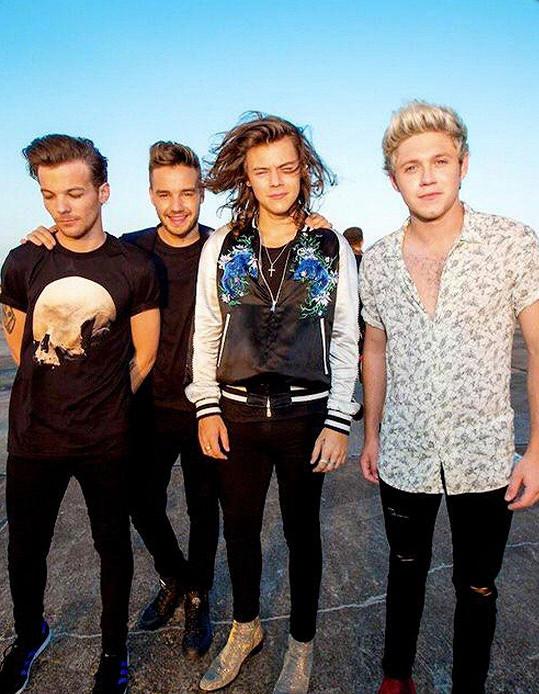 Louis je bývalým členem skupiny One Direction.