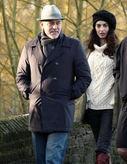 George Clooney se už těší na to, až se stane otcem.