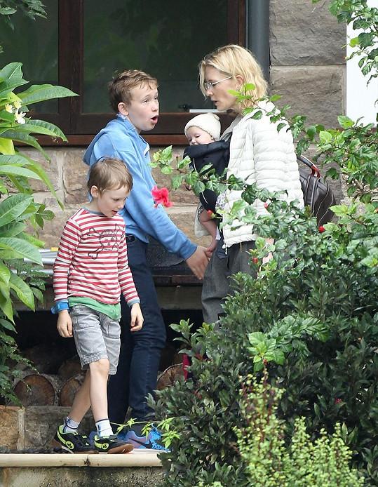 Cate Blanchett si rozšířila rodinu.