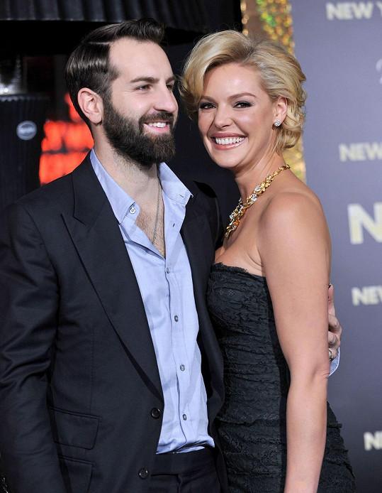 Katherine Heigl s manželem Joshem Kelleyem