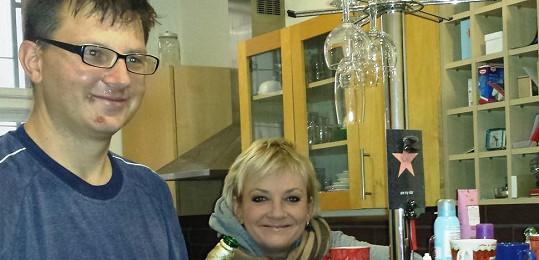 Kateřina Hamrová slavila silvestra s hercem Robertem Michalčíkem.