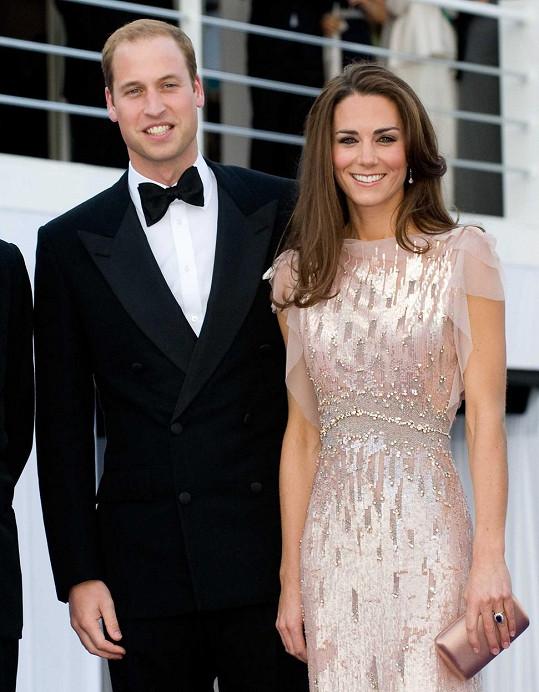 Catherine s Williamem před pěti lety
