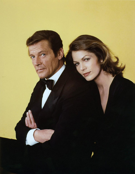 Jako filmová milenka agenta 007 ve filmu Moonraker