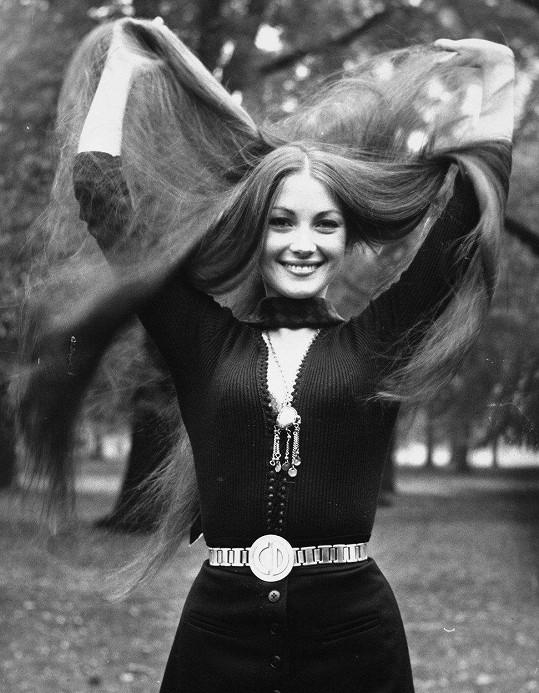 Jane Seymour na fotce ze 70. let