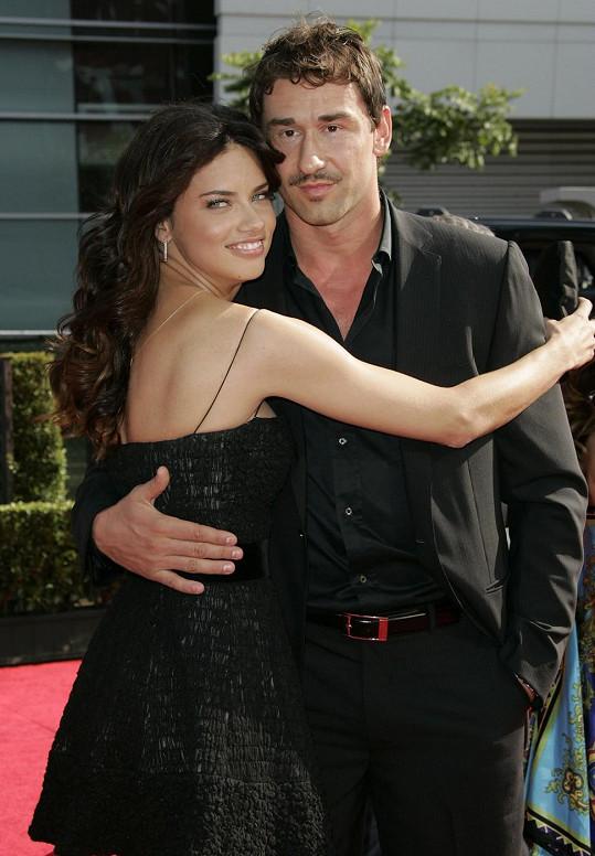 Adriana Lima a Mark Jaric
