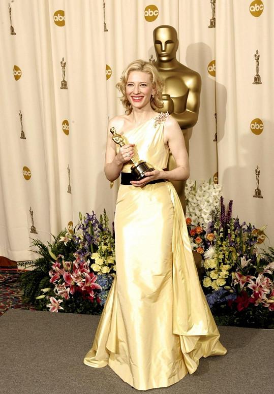 V roce 2005 získala Cate Blanchett Oscara za film Letec.