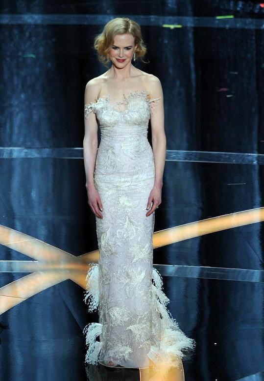 Nicole Kidman zazářila v šatech L´Wren Scott.