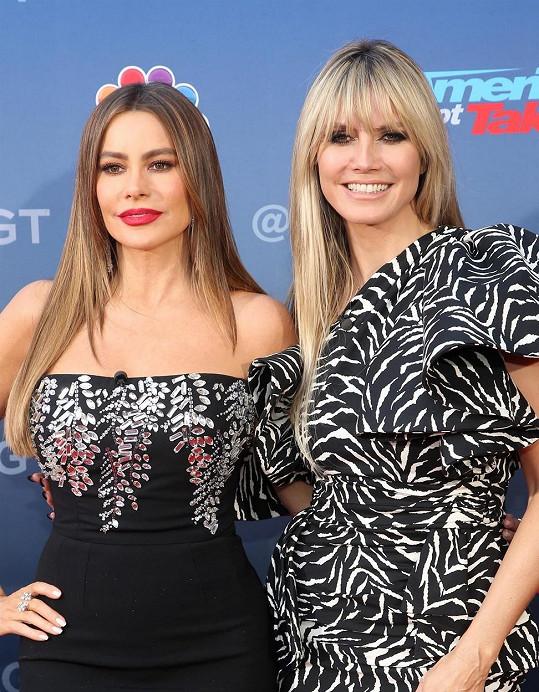 Sofia nyní působí v porotě talentové soutěže s Heidi Klum.